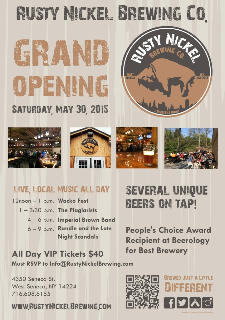 jordannerissa :: rusty nickel brewing co. grand opening
