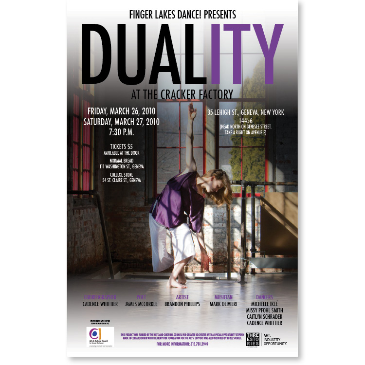 Duality Dance Poster – Graphic Design