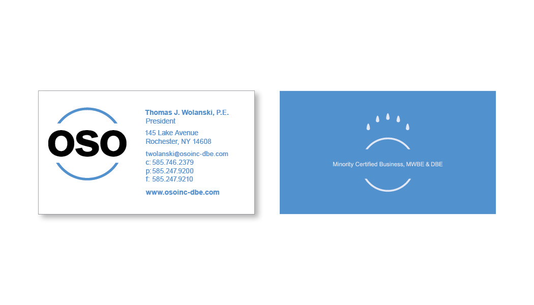OSO business card