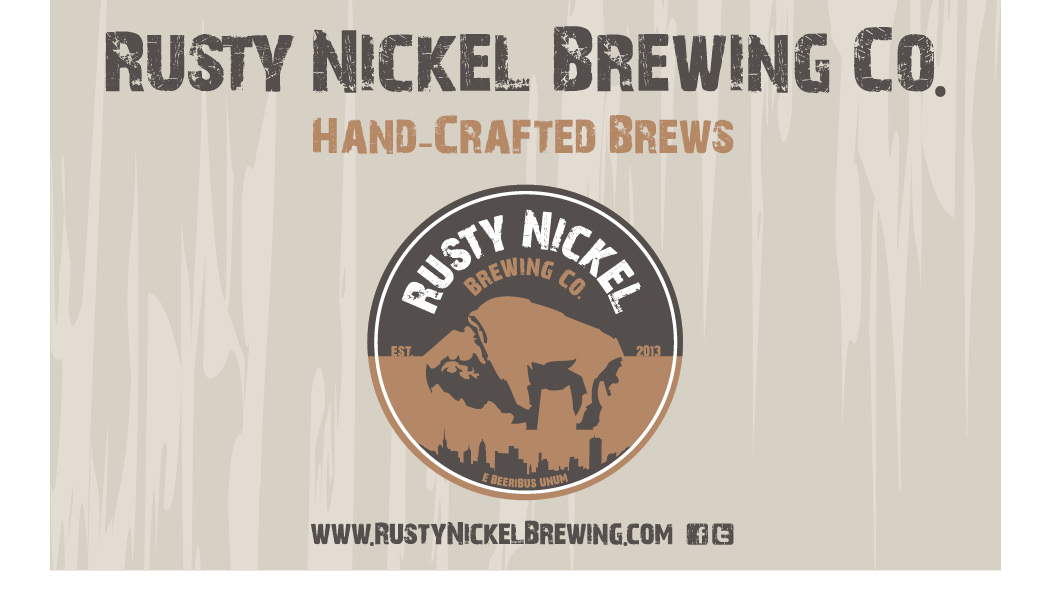 rusty nickel brewing co. banner