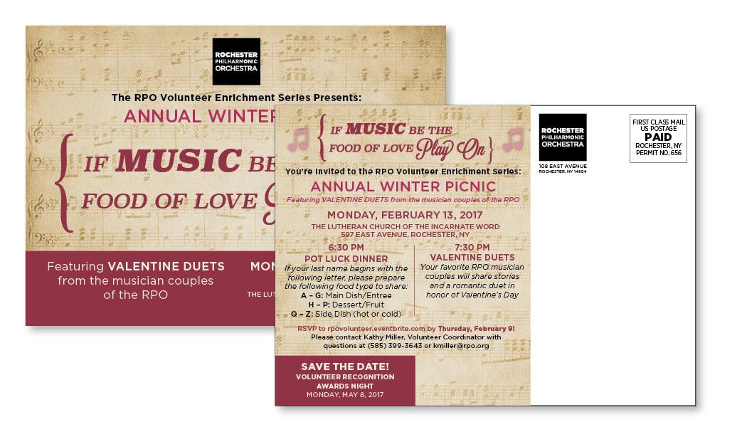 rpo music invitation