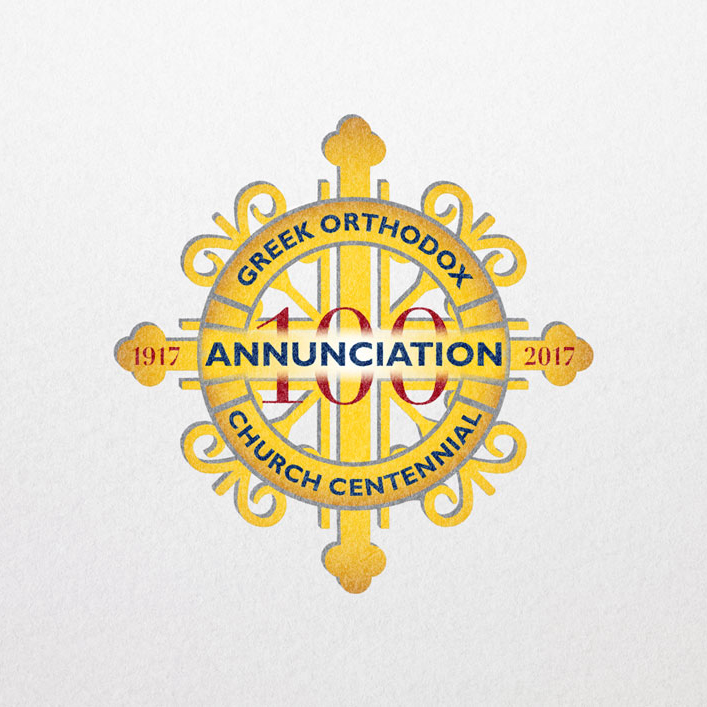 Annunciation Greek Orthodox Church Centennial – Graphic Design