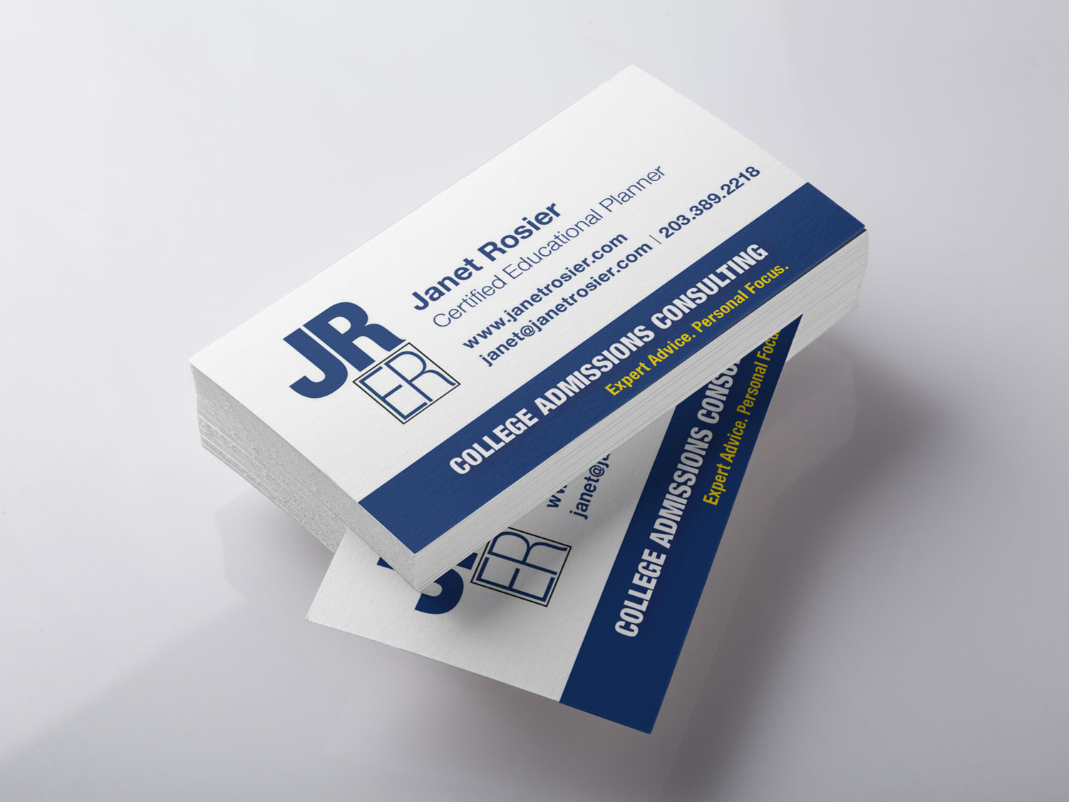 Janet Rosier Educational Resources business card