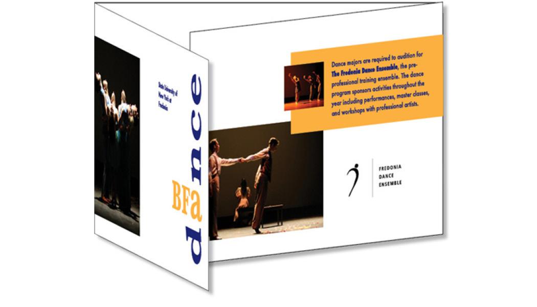 sun fredonia bfa dance brochure