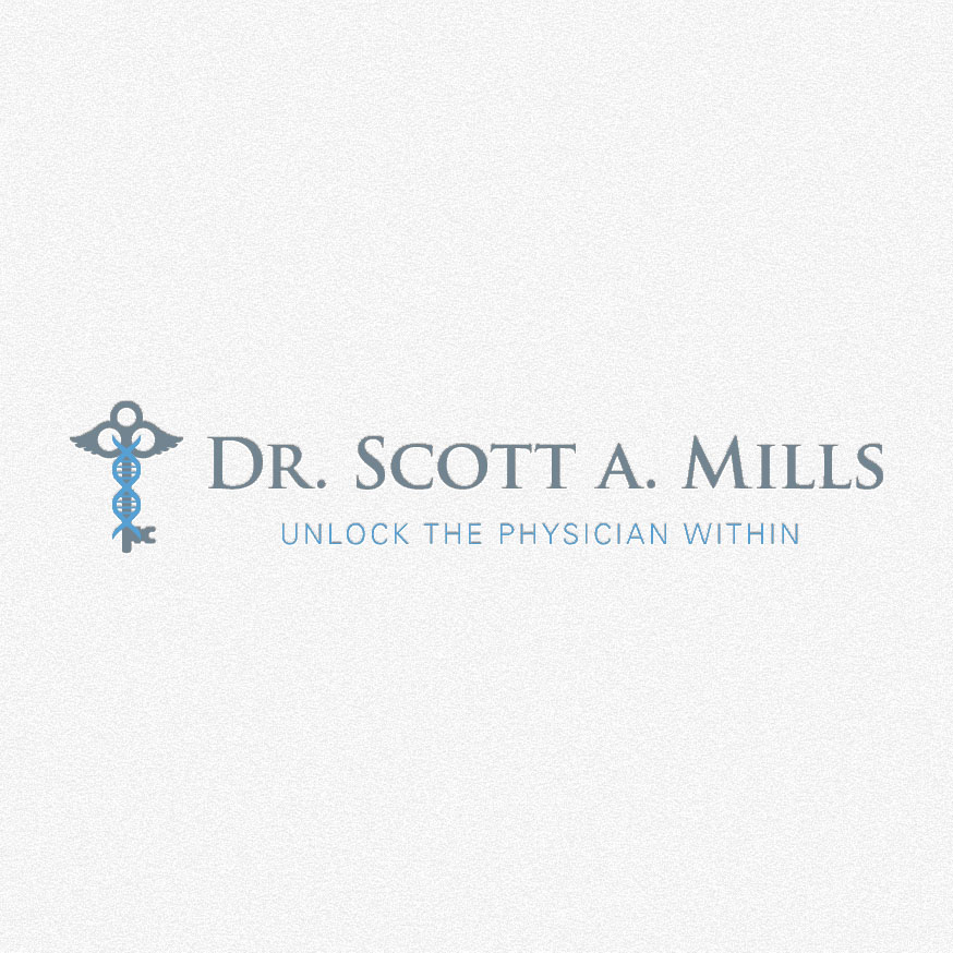Dr. Scott A. Mills – Branding + Graphic Design