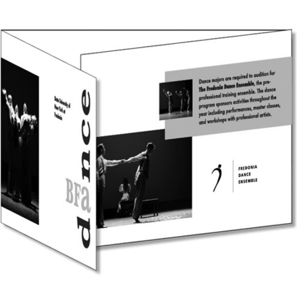 SUNY Fredonia BFA Dance Program Brochure