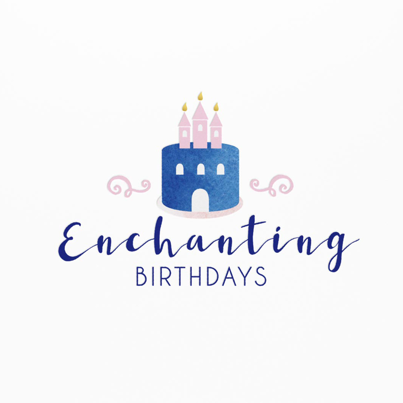 Enchanting Birthdays – Branding + Graphic Design