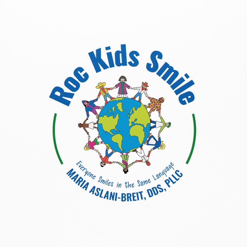 Roc Kids Smile – Branding + Website Design