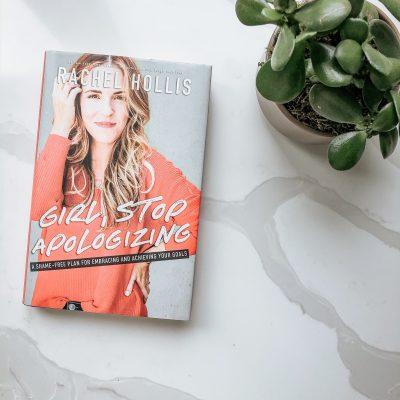 bookmarked february - girl, stop apologizing