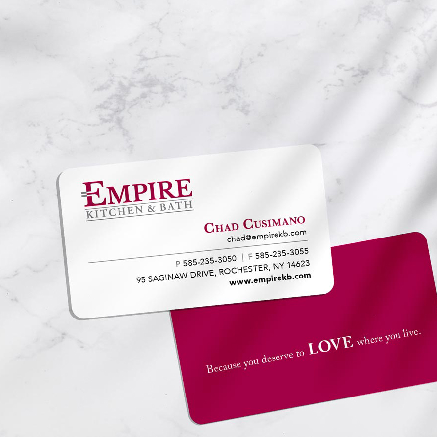 Empire Kitchen & Bath – Graphic Design