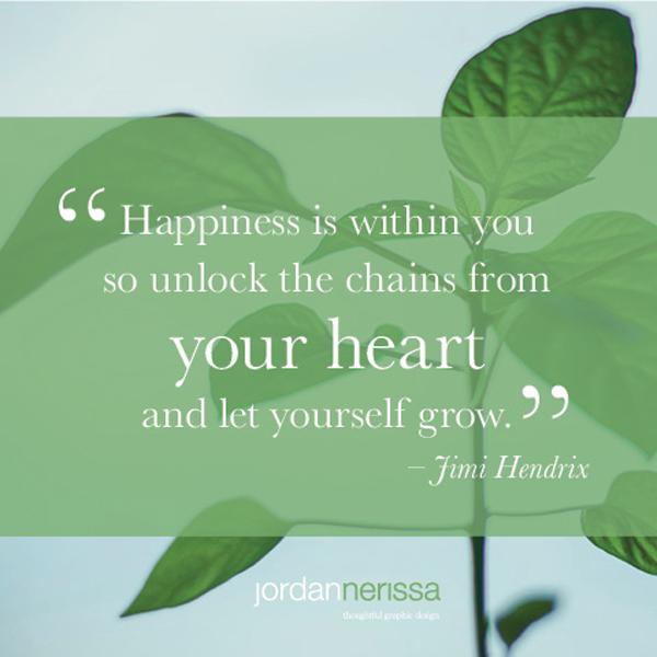 jimi hendrix quote - happiness