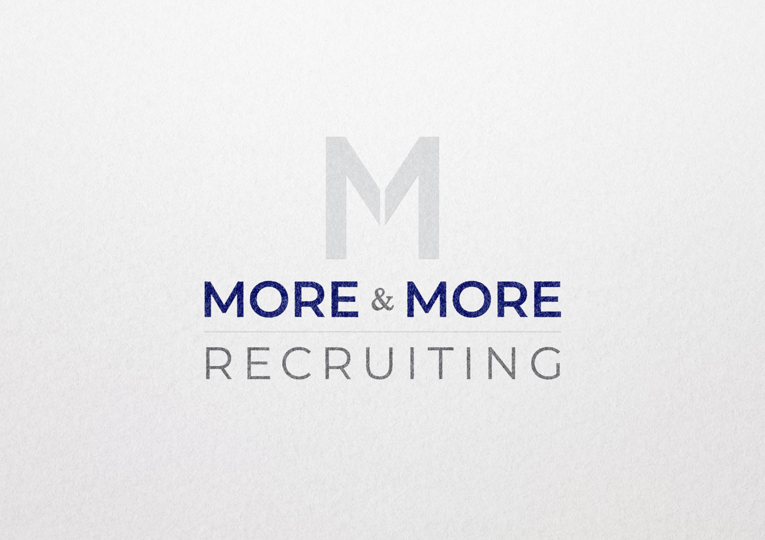 more and more recruiting logo