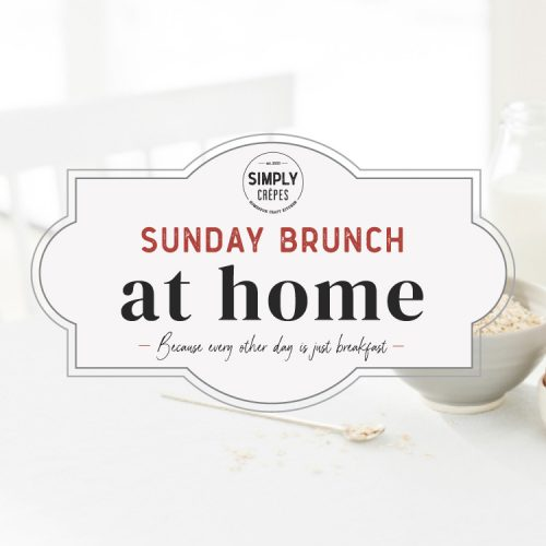 simply crepes brunch at home logo