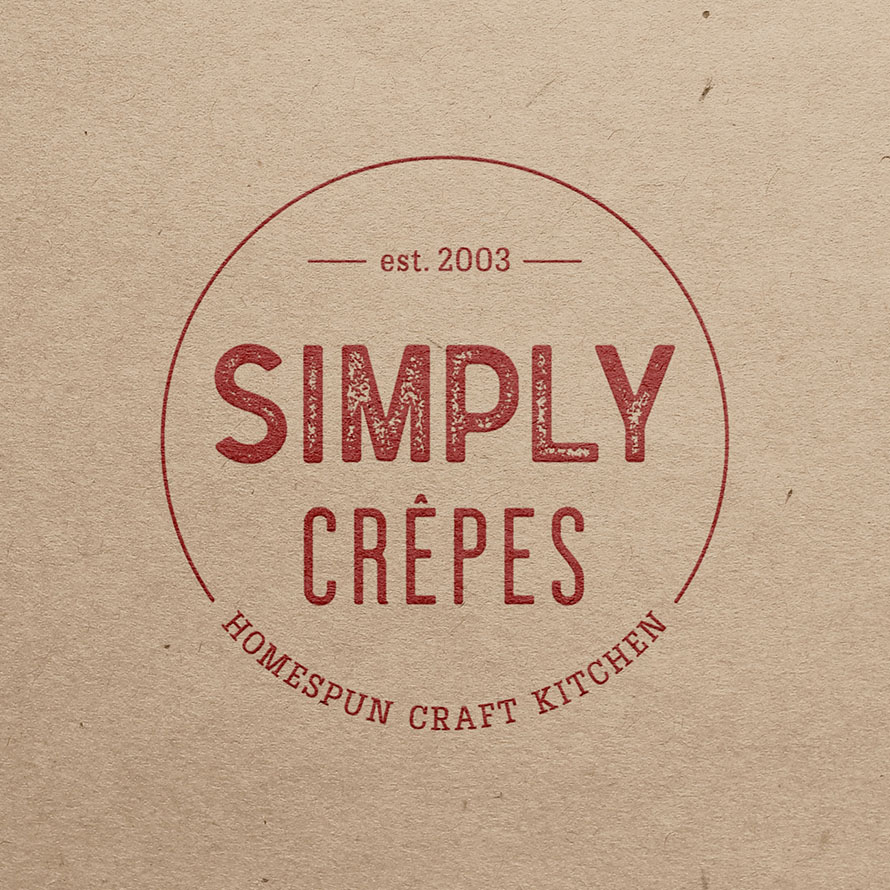 Simply Crêpes – Branding + Graphic Design