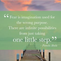 pamela abalu quote - fear
